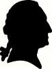 George Washington vinyl decal