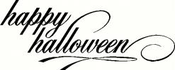 Happy Halloween (7) vinyl decal