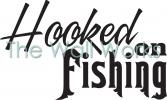 Hooked On Fishing vinyl decal