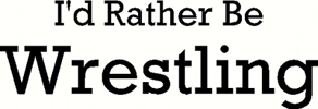 rather be wrestling vinyl decal