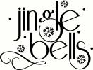 Jingle Bells (1) vinyl decal