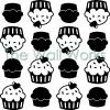 Kitchenaid Cupcakes vinyl decal