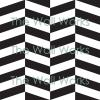 Kitchenaid Herringbone Chevron vinyl decal