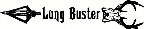 Lung Buster vinyl decal