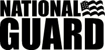 National Guard vinyl decal
