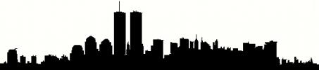 new york city silhouette vinyl decal