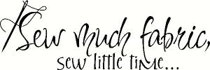 sew much fabric vinyl decal
