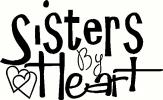 Sisters By Heart vinyl decal