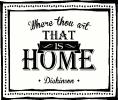 That is Home vinyl decal