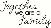 Together we are a Family