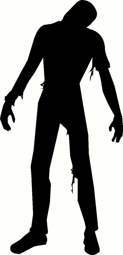 Zombie 2 Wall Sticker Vinyl Decal The Wall Works