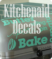 Kitchenaid Mixer Vinyl Decals