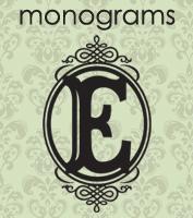 wall monogram vinyl lettering
