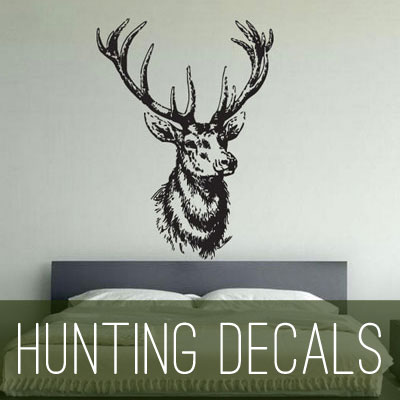 hunting vinyl decals and wall stickers